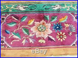 8'8 x 11'5 Amazing and Unusual Art Deco Chinese Oriental Rug, #16935