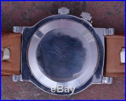 Movado 50s Vintage Weems Navigation Watch 36mm Case Radium Dial Serviced Cal 127