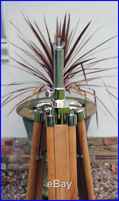 New Teak Tripod Stand For Strand 23, 23n, 123 & 823 Stage Theatre Light Lamp
