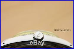Rolex Mens Datejust Silver 18k White Gold & Stainless Steel Watch Oyster Band